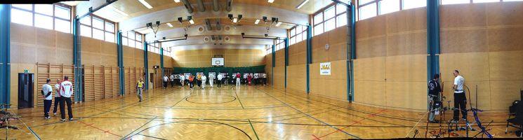 Bogen Club Union Wien   Trainingshalle