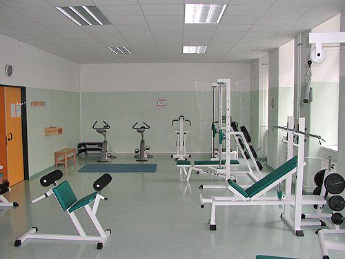 Sporthalle Mollardgasse Kraftkammer