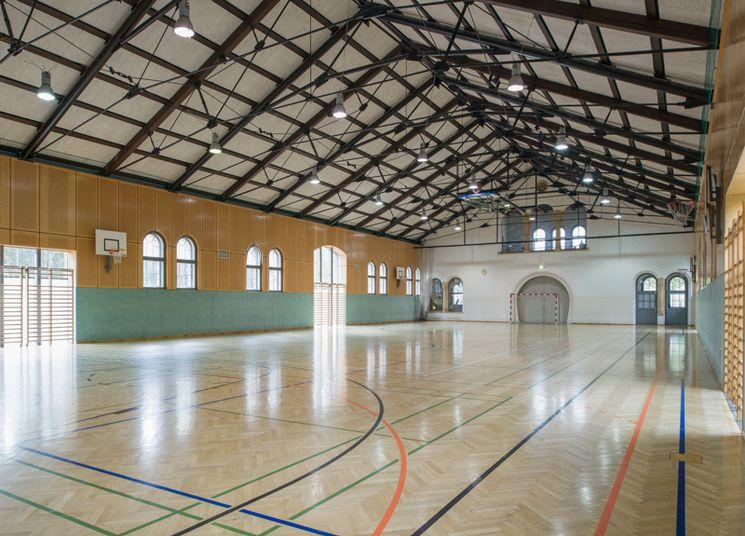 Hallenspielfeld des USI Wien am Rennweg