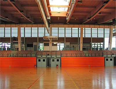 Sporthalle Brigittenau Spielfeld