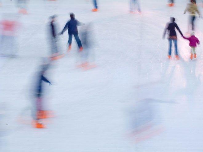 Wilhelminenberg on Ice Eislaufplatz