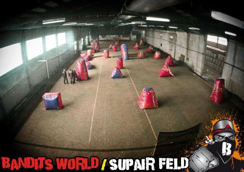 Supair Indoor Paintball