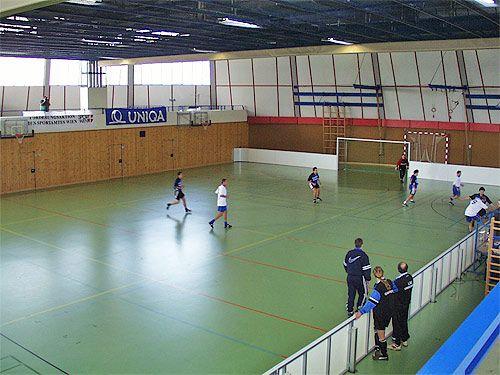 Rundhalle Lieblgasse Spielfeld