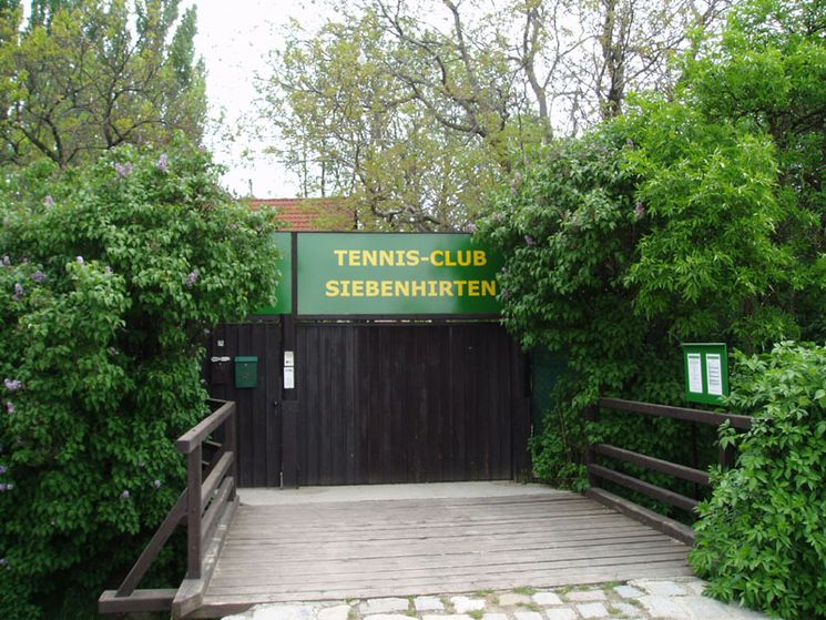 TC Siebenhirten | Eingang