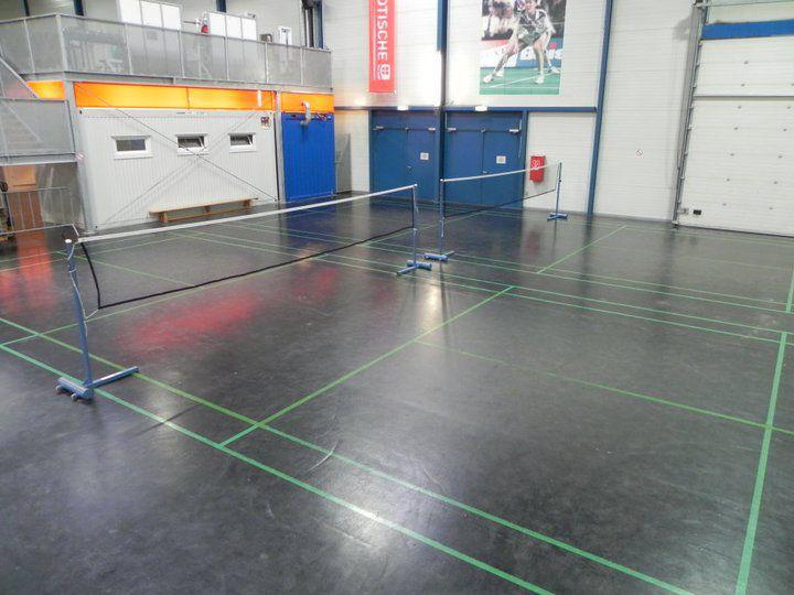Sport & Fun Halle Dusika Badmintonplätze