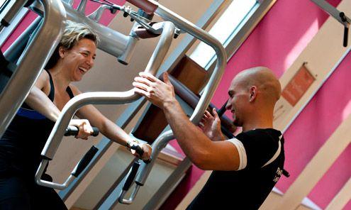 Holmes Place Vienna International Club Fitnessgeräte
