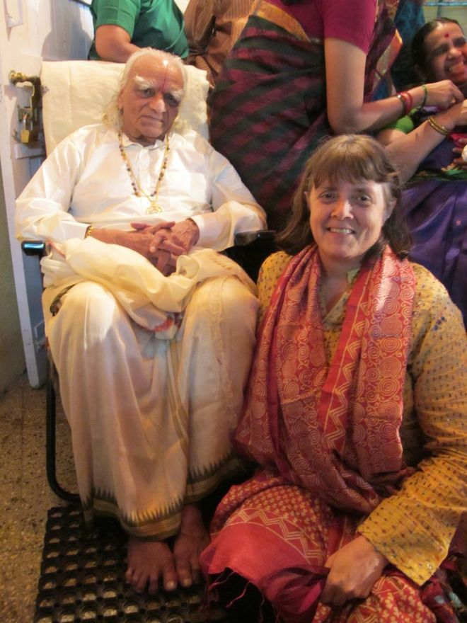 Usha Devi and Stephanie Quirk in Amberg/Germany at relax & move