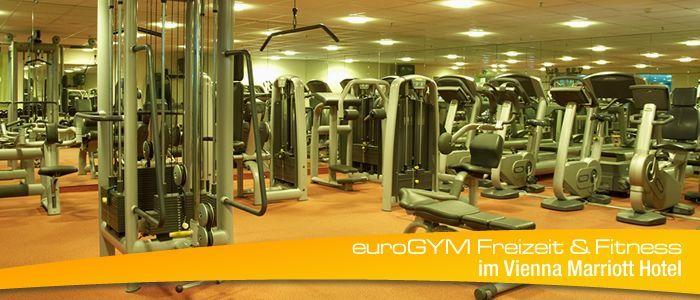 euroGYM Vienna Marriott Hotel | Fitnessbereich