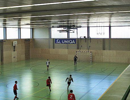 Sporthalle Großfeldsiedlung | Innenansicht