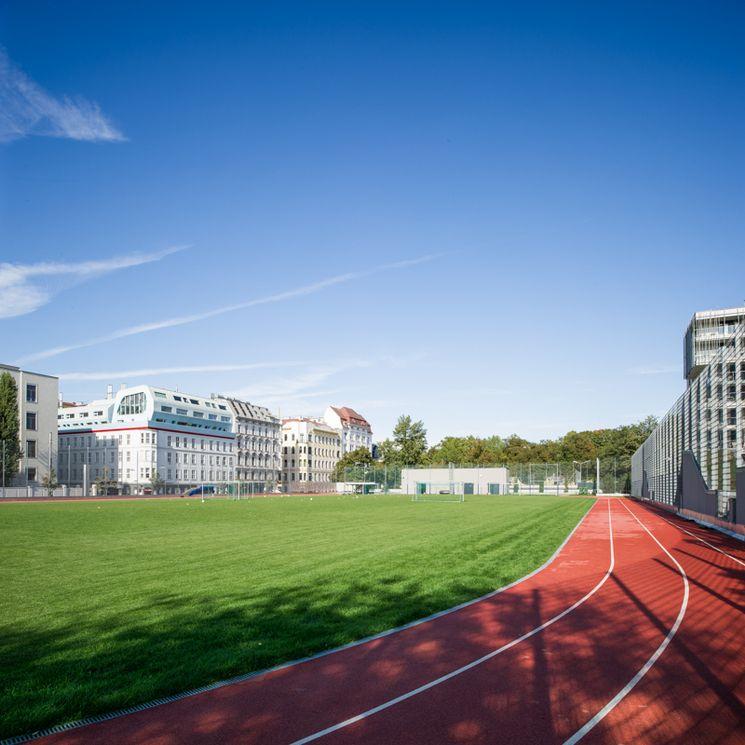 Fußballplatz der USI Wien Spitalgasse