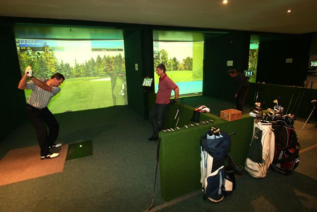 C19 Indoor Golfsimulator