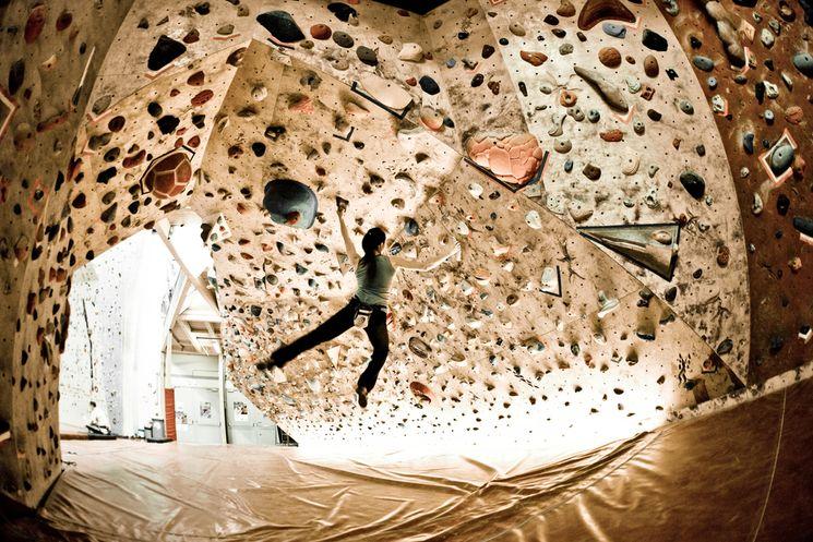 Kletterhalle Wien Indoor Bereich