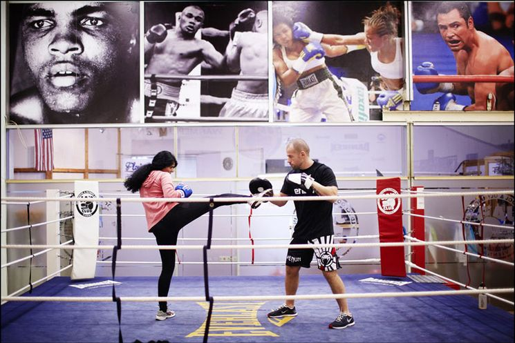 Sportcenter23 Boxring